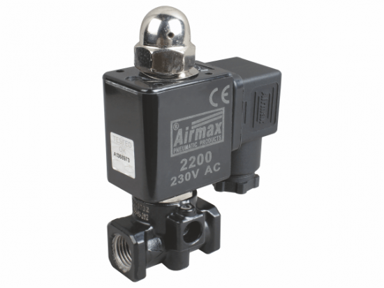 CJ 3/2 Way Direct Acting Solenoid Valve Normally Closed