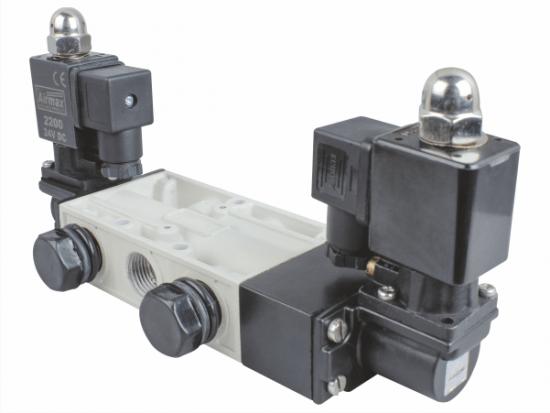 5/3 double solenoid valve